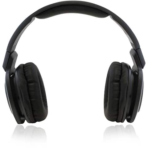 Adesso Bluetooth 3.0 Rotatable Pivot Headphones with Microphone Retail - Black
