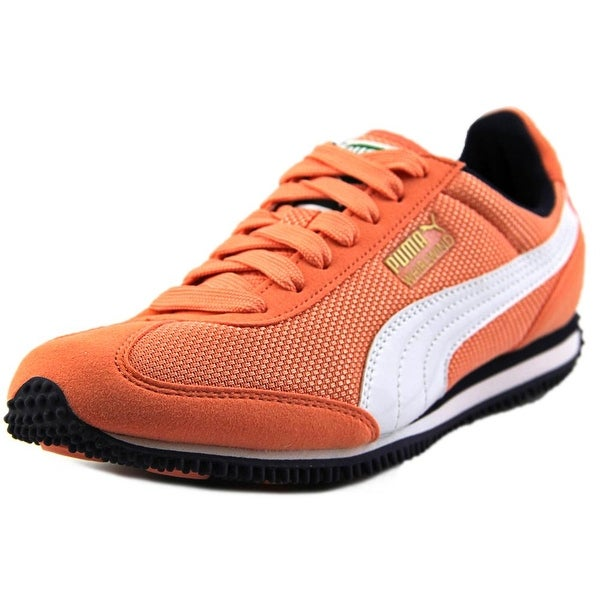 Puma Whirlwind Mesh Jr. Round Toe Canvas Sneakers