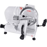 Costway 9'' Blade Commercial Meat Slicer Deli Meat Cheese Food Slicer Industrial - as pic