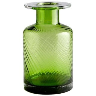 "Cyan Design 05867 11.75"" Medium Apothecary Vase - Green"