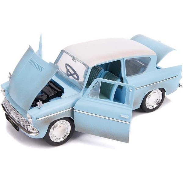 Harry Potter twin set 1959 Ford Anglia /& The Knight Bus diecast models
