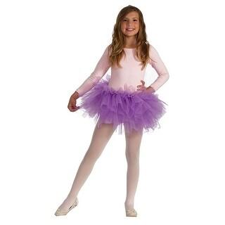 Fluffy Tutu Child Costume, Purple