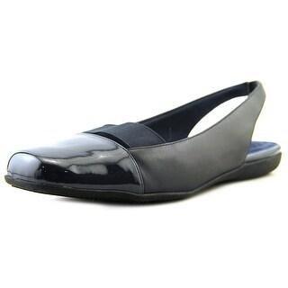 Trotters Sarina N/S Square Toe Leather Slingback Heel