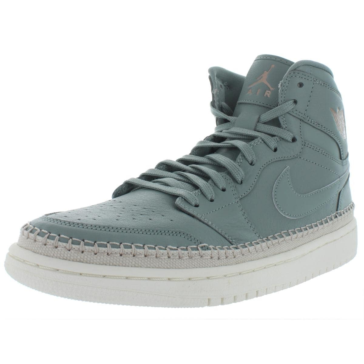 official photos 8a011 a8b6f Jordan Womens Air Jordan 1 Retro Hi Premium Basketball Shoes Leather  Signature