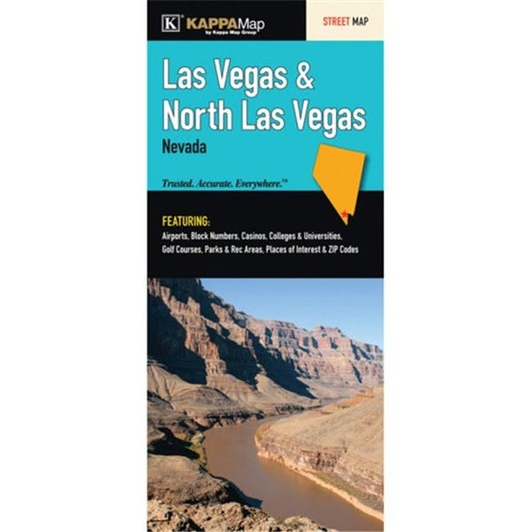 Universal Map 15979 Las Vegas - North Las Vegas Fold Map on golf courses in vermont map, golf courses in tucson map, golf courses in indiana map, golf courses in cancun map,