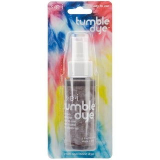 Tumble Dye Craft & Fabric Spray 2oz-Walnut - brown