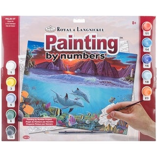 "Paint By Number Kit 15.375""X11.25""-Ocean Life"