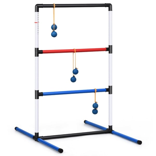 Ladder Ball Toss Game Set Bolas Score Tracker Carrying Bag - Multi. Opens flyout.