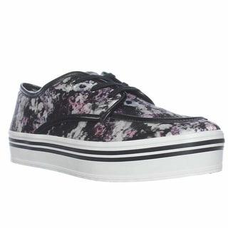 DV by Dolce Vita Jaimee Platform Fashion Sneakers - Floral Print