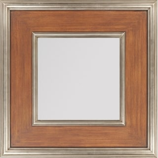 Wood Framed Wall Mirrors kosas home jaden 60-inch wooden wall mirror - free shipping today