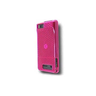 OEM Verizon High Gloss Silicone Case for Motorola Droid X MB810 (Pink) (Bulk Pac