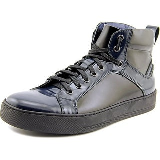Kenneth Cole Reaction Sky-Dive Men Round Toe Leather Sneakers