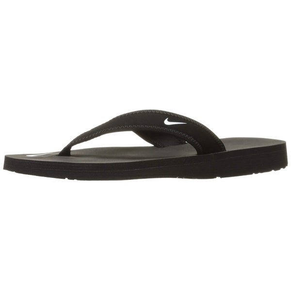 677effaad Shop Nike Womens Celso Thong Flip Flops Open Toe Shoes (10, Black) - Free Shipping  Today - Overstock - 27173088