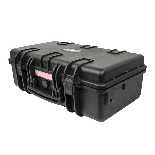 "Monoprice Weatherproof Hard Case with Customizable Foam, 22"" x 14"" x 8"""