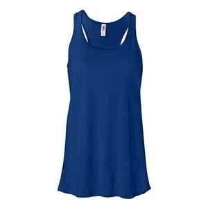 Women's Flowy Racerback Tank - True Royal - XL