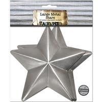 Salvaged Large Metal Stars 2/Pkg-