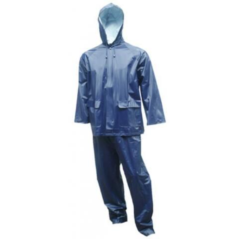 Tuff-Enuff Plus S62211-2X Rainsuit, 2X-Large, Blue, 2-Piece
