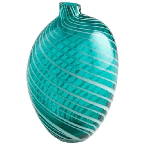 Cyan Design Large Prague Vase Prague 10.5 Inch Tall Glass Vase