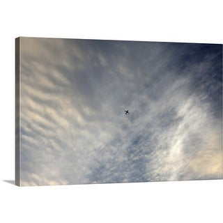 """Airplane flight"" Canvas Wall Art"