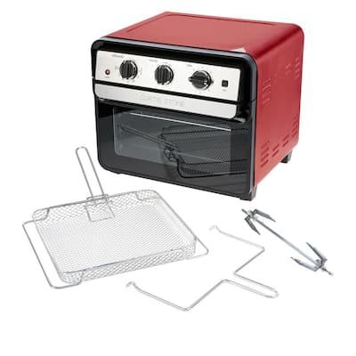 Curtis Stone Dura-Electric 1700-Watt 22L Air Fryer Oven w/Rotisserie Model 698-469