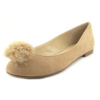 Charles By Charles David Danni Women Round Toe Synthetic Tan Flats