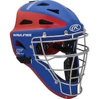 Rawlings Adult VELO Series 2-Tone Matte Catcher's Helmet