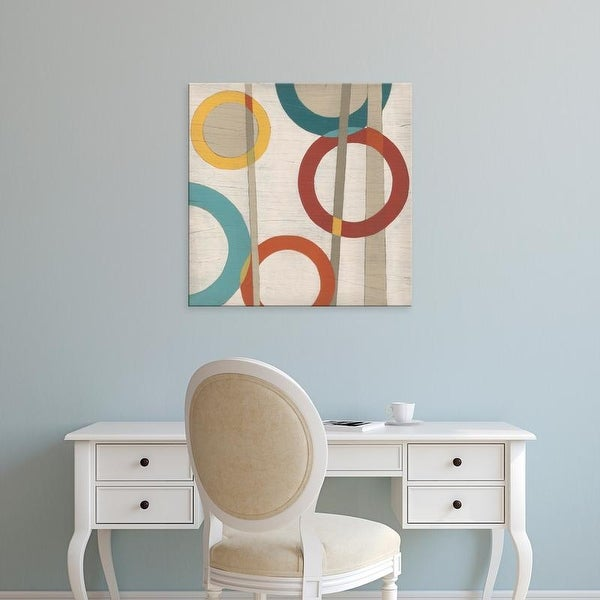 Easy Art Prints June Erica Vess's 'Circular Logic IV' Premium Canvas Art