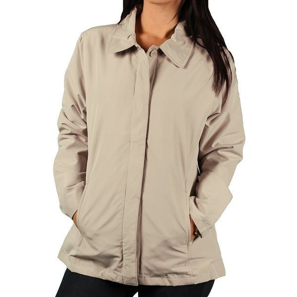 Vantage Ladies 'Soho' Button-Front Microfiber Jacket
