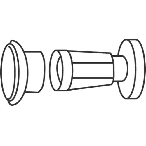 EZ-Set 504006 6 Foot Aluminum Shower Rod