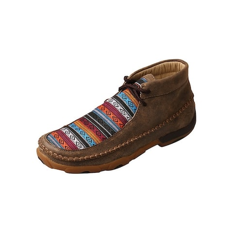 Twisted X Casual Shoes Womens Padded Collar Mocs Multi-Color