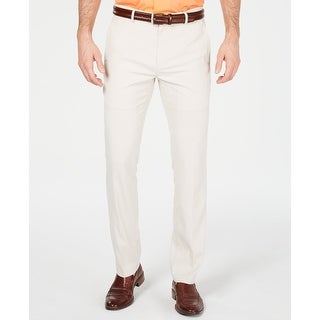 Link to Alfani Mens Pants Classic Light Beige Size 40 Chino Alfatech Stretch Similar Items in Big & Tall