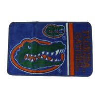 Florida Gators Officially Licensed Non-Skid Throw Rug 20 x 30 inch - Blue