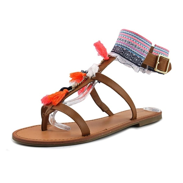 Indigo Rd. Gypsy Women Open Toe Synthetic Multi Color Gladiator Sandal