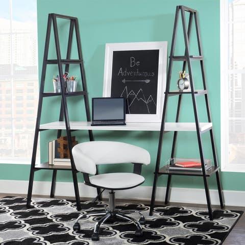 Powell Ivana White Desk Chair