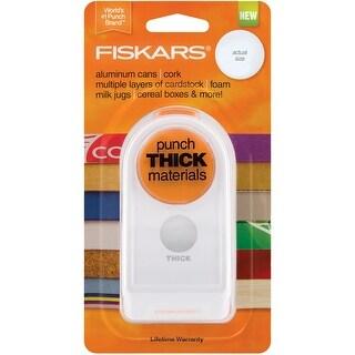 """Fiskars Thick Material Punch 1""""-Circle"""
