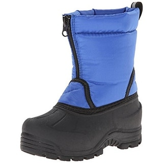 Northside Icicle Snow Boots Faux Fur Lined Canvas