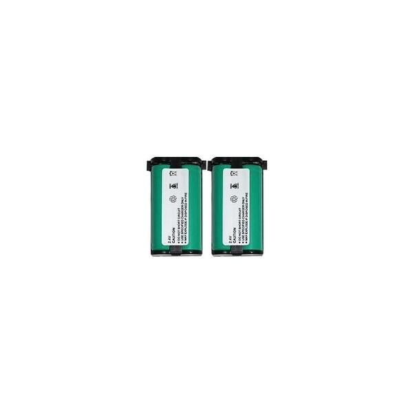 Replacement Panasonic HHR-P513 NiMH Cordless Phone Battery (2 Pack)