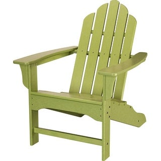 Hanover Outdoor HVLNA10LI All-Weather Contoured Adirondack Chair - Lime