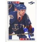 Patrice Tardif St Louis Blues 1996 Score Autographed Card This item comes with a certificate of authenticity from Au