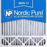 Nordic Pure 20x20x5 Honeywell Replacement Pleated MERV 12 Air Filters Qty 4
