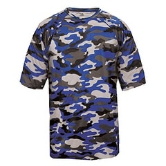 Adult Camo Short-Sleeve T-Shirt ROYAL CAMOUFLAGE M