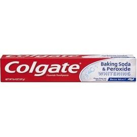 Colgate Baking Soda & Peroxide Whitening Oxygen Bubbles Brisk Mint 6.40 oz