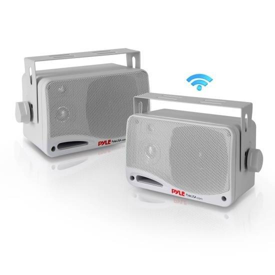 """3.5"""" Bluetooth Home Speakers, 3-Way Indoor/Outdoor Speaker System, 200 Watt"""