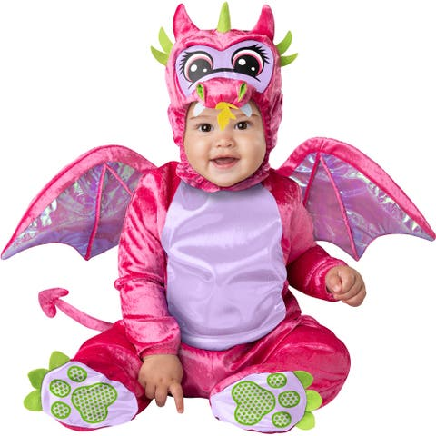 Baby Pink Dragon Storybook Halloween Costume