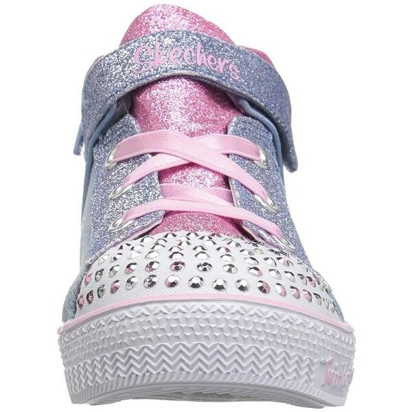 Shop Skechers Kids' Shuffle Lite Dainty Denims Sneaker 5 M