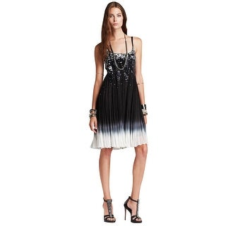 Free People Supernova Sequined Pleated Cocktail Evening Dress - 12