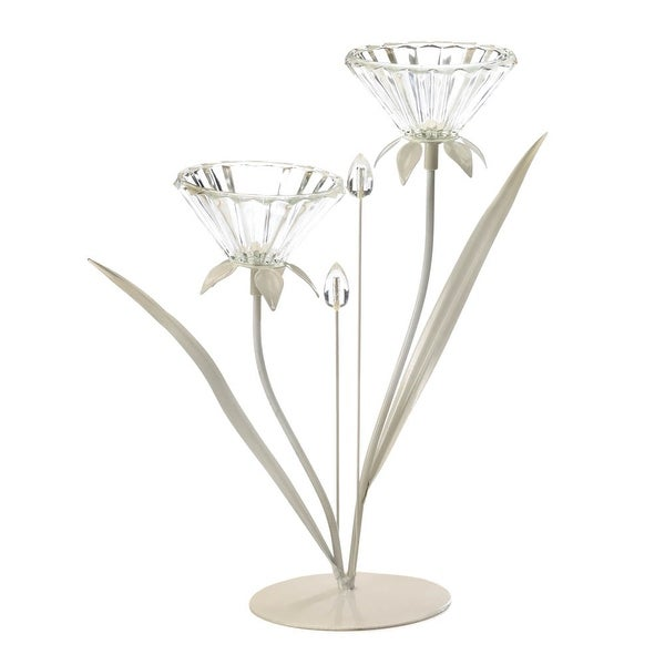 Innovative Double Posy Candle Holder