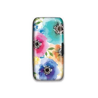 Lady Jayne Case Wallet Watercolor Blooms