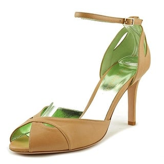 Ernesto Esposito Pretty Girl   Peep-Toe Leather  Heels