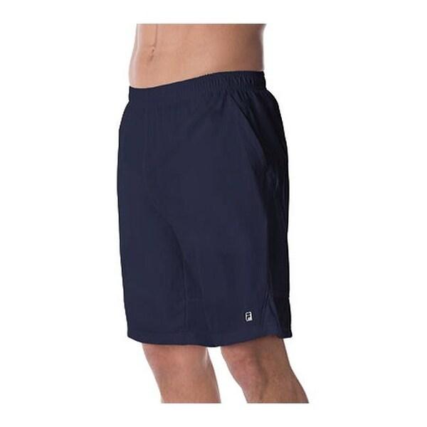 Fila Men's Fundamental Mesh Back Short Peacoat